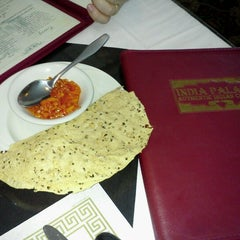 Photo taken at India Palace Restaurant by Stephen H. on 7/18/2012