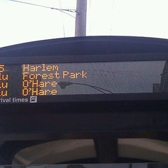 Photo taken at CTA Bus Stop 738 by Thalia M. on 2/5/2012
