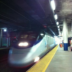 Photo taken at Providence Train Station (PVD) - MBTA & Amtrak by Susie S. on 7/7/2012