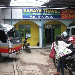 Photo taken at Baraya Travel by MUST WD HANDSOME on 7/25/2012