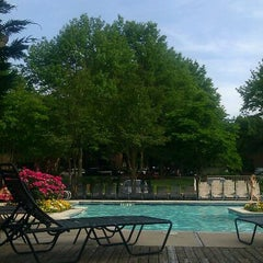 Photo taken at Lincoln Green Pool by Venus B. on 5/16/2012