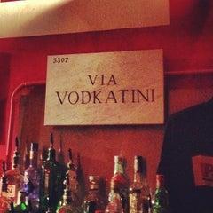 Photo taken at Pravda Vodka Bar by Simon B. on 5/5/2012