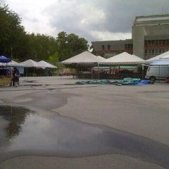 Photo taken at Dataran Panggung Seni UKM by Mohd Nasiruddin M. on 3/8/2012