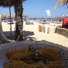 Photo taken at Villa Rosa - Bar Beach & Restaurant by Ilaria B. on 6/28/2012