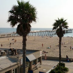 Photo taken at Hermosa Beach Parking Structure by Todd Z. on 8/18/2012