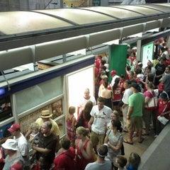 Photo taken at MetroLink - Stadium Station by Dakota D. on 7/5/2012