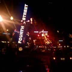 Photo taken at Fourth Street Live! by Brent H. on 4/29/2012