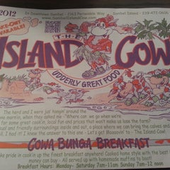 Photo taken at The Island Cow by Natalie K. on 8/16/2012