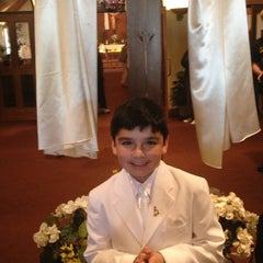 Photo taken at St. Rene Goupil by Chely C. on 5/17/2012