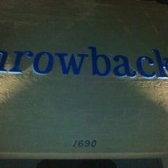 Photo taken at Throwbacks Grille & Bar by Adam J. on 3/30/2012