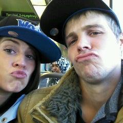 Photo taken at MetroTransit train by Jake H. on 2/4/2012