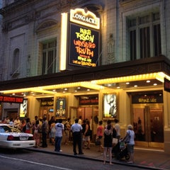 Photo taken at Longacre Theatre by Doug L. on 8/11/2012