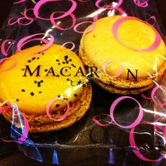 Photo taken at MacarOn Café by Robert S. on 5/5/2012