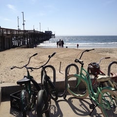Photo taken at Newport Pier by Phil K. on 3/12/2012