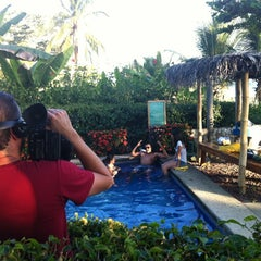 Photo taken at The Backyard Hotel Pool by Rafael R. on 2/12/2012