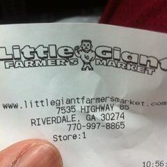 Photo taken at Little Giant Farmer's Market by TJ on 5/13/2012