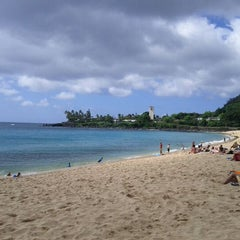 Photo taken at Waimea Bay by Rob on 6/5/2012