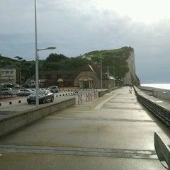 Photo taken at Veulettes sur mer by Daniel N. on 6/14/2012