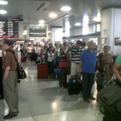 Photo taken at NJ Transit Waiting Area by lynda b. on 8/26/2012