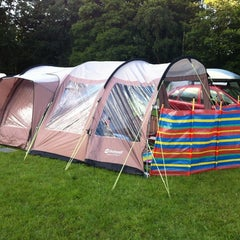 Photo taken at Kelvedon Hatch Camping and Caravanning Club Site by Joanne on 8/1/2012