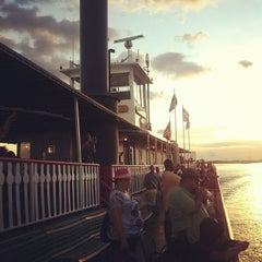 Photo taken at Steamboat Natchez by Linda S. on 8/6/2012