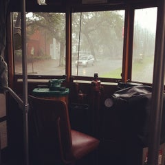 Photo taken at St. Charles Streetcar by Mary B. on 7/7/2012