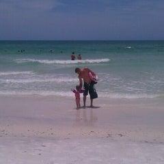 Photo taken at Coquina Beach by Rachael N. on 6/9/2012