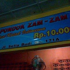 Photo taken at Pondok Zam-Zam by Syauqi H. on 9/7/2012