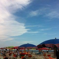 Photo taken at Bagno Hana-Bi by Andrea B. on 6/23/2012