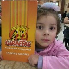 Photo taken at Giraffas by Felipe M. on 5/27/2012