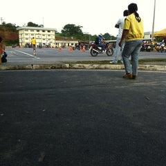 Photo taken at Complexo de Treinamento de Direção Veicular  - DETRAN/AM by Diego M. on 2/9/2012