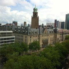 Photo taken at Hilton Rotterdam Hotel by Olaf F. on 7/8/2012