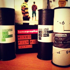 Photo taken at Lomography Gallery Store by Gustavo C. on 4/28/2012