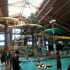 Photo taken at Timber Ridge Lodge & Waterpark by Spoon B. on 8/5/2012