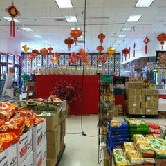 Photo taken at Grand Asia Market by Courtney Z. on 3/20/2012