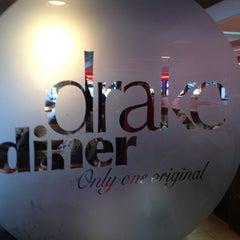Photo taken at Drake Diner by Chris B. on 2/5/2012