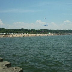 Photo taken at Grand Haven State Park by Adrienne P. on 5/20/2012