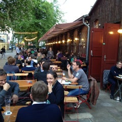 Photo taken at Pratergarten by Peter S. on 5/9/2012