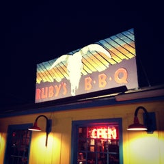Photo taken at Ruby's BBQ by Michael C. on 7/28/2012