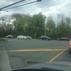 Photo taken at Leesburg Pike & Towlston Road by Rachel W. on 4/9/2012
