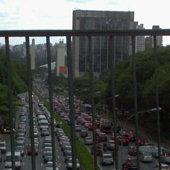 Photo taken at Avenida Vinte e Três de Maio by @juliogn on 2/2/2012