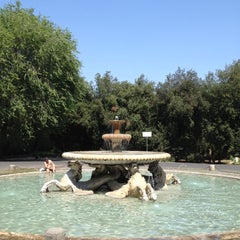 Photo taken at Museo Carlo Bilotti - Aranciera di Villa Borghese by Shawn M. on 8/24/2012