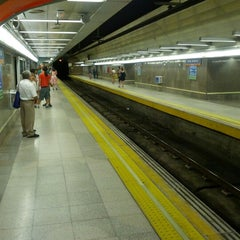 Photo taken at Metro Avenida de América by Javi on 8/3/2012