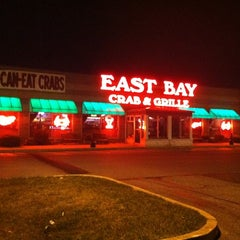 Photo taken at East Bay Crab & Grille by Andrea A. on 8/5/2012