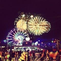 Photo taken at EDC Las Vegas by Anh T. on 6/13/2012