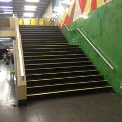 Photo taken at Metro Los Leones by David C. on 8/12/2012