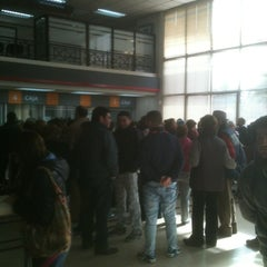 Photo taken at BancoEstado by Jorge V. on 6/11/2012