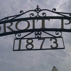 Photo taken at Ledroit Park Gate by Phil R. on 7/23/2012