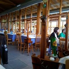 Photo taken at Restaurante Sidrería El Horreo by Borja on 6/18/2012
