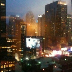 Photo taken at Fairfield Inn & Suites New York Manhattan/Times Square by Mike E. on 5/16/2012